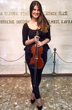 Alena Tunca Violin Lessons Dublin Mezzo Music Academy